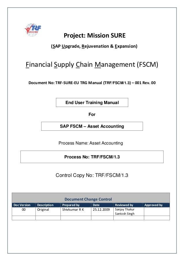 sap fi asset accounting end user guide for beginners rh slideshare net SAP vs GAAP Accounting sap asset accounting end user guide