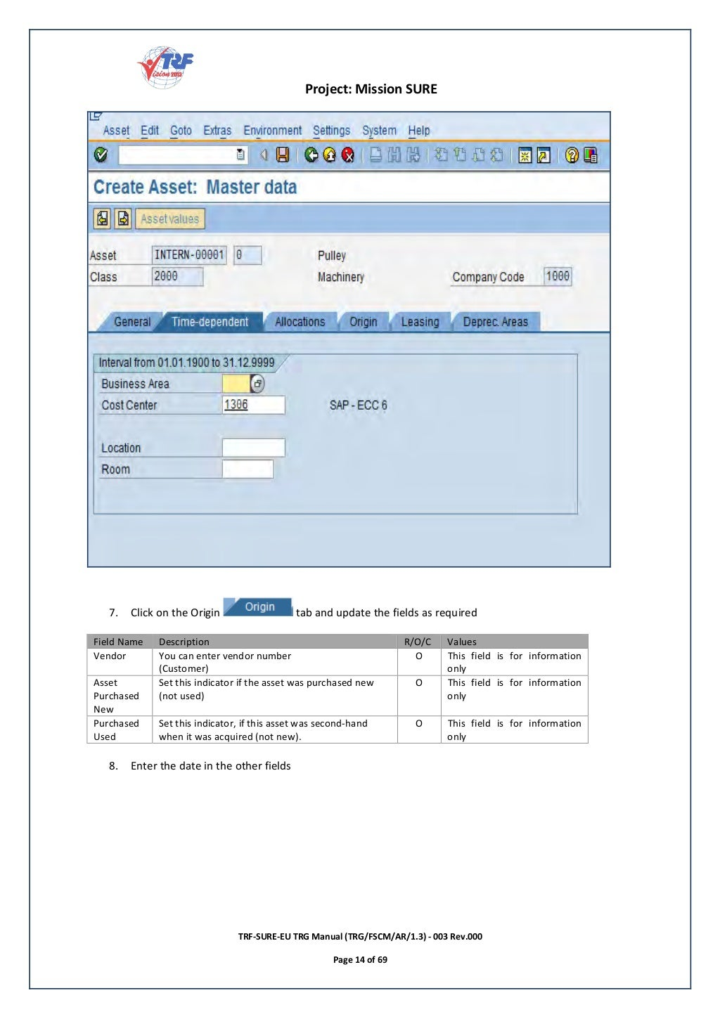 SAP FI Asset Accounting: End User Guide for Beginners