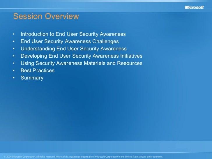 End User Security Awareness Presentation Slide 3