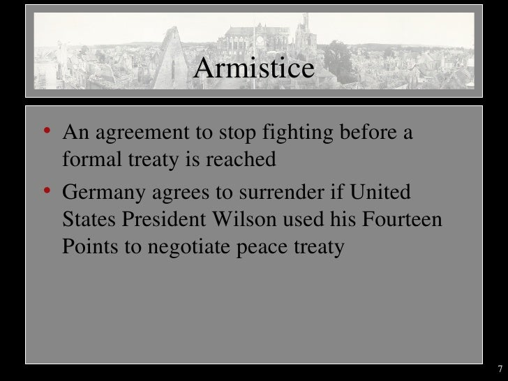 End of wwi mcdowell 7 armistice ullian agreement to stop fighting platinumwayz
