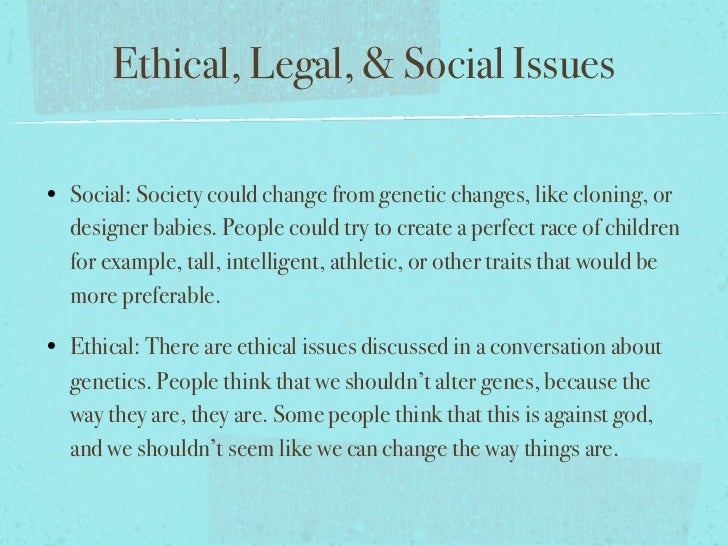 a debate on the moral issues of cloning Currently there are two types of cloning under debate the ethical issues of human cloning uploaded by ariel brown 'the main moral issues raised by human cloning.