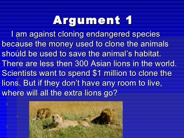 the need to save the animals from extinction using genetic engineering Secular and religious debates - morality of the genetic engineering of animals.