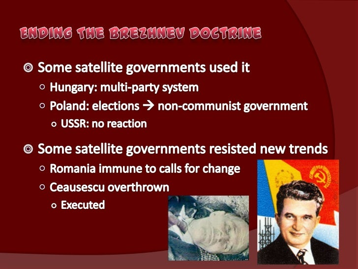Collapse Of Communism In Eastern Europe