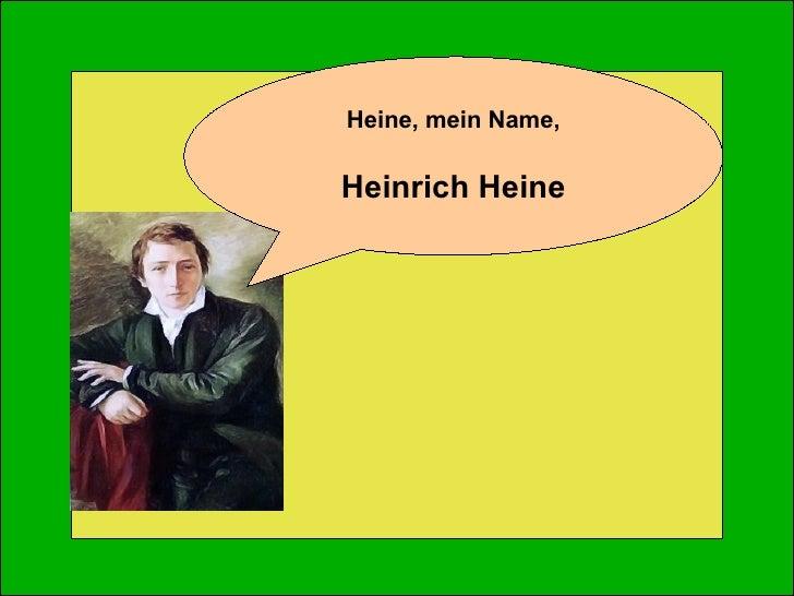 Vormärz by H. Heine Slide 3