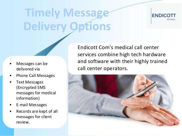 Endicott Providing Medical Call Center Services