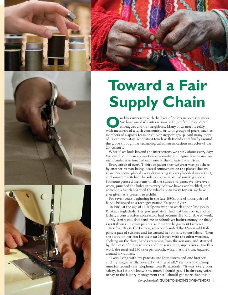 Ending sweatshops by Green America