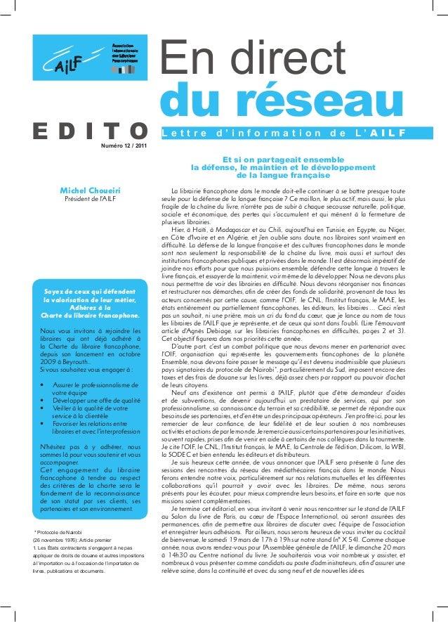 la récession de l'ECRI datant ne pas dater un contrat