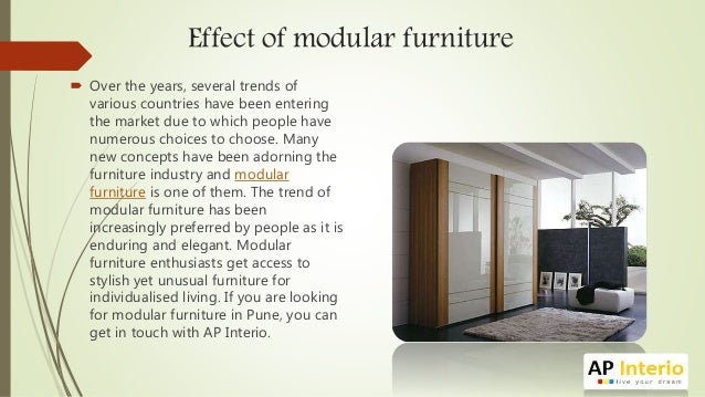 Endless Design Possibilities In Modular Furniture