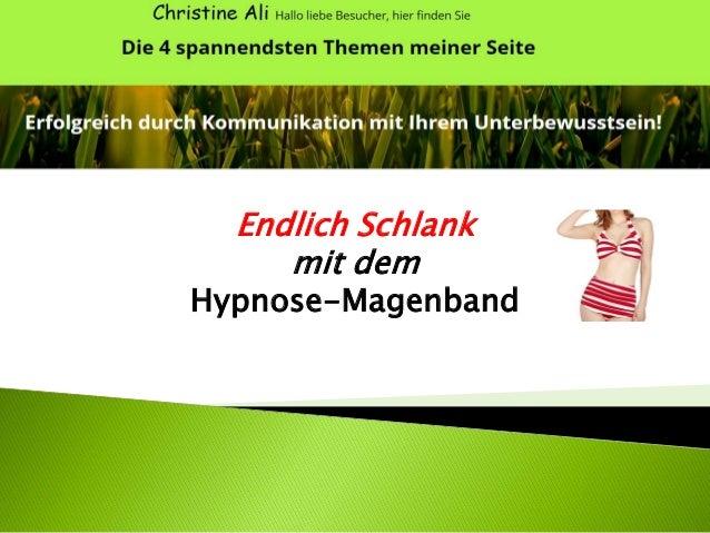 Endlich Schlank mit dem Hypnose-Magenband