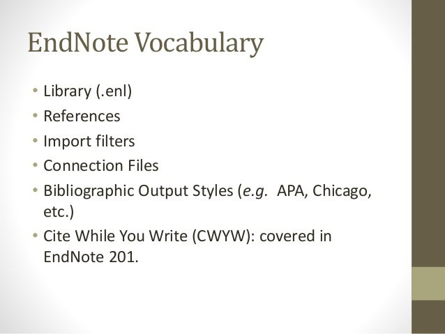 how to use endnote word online