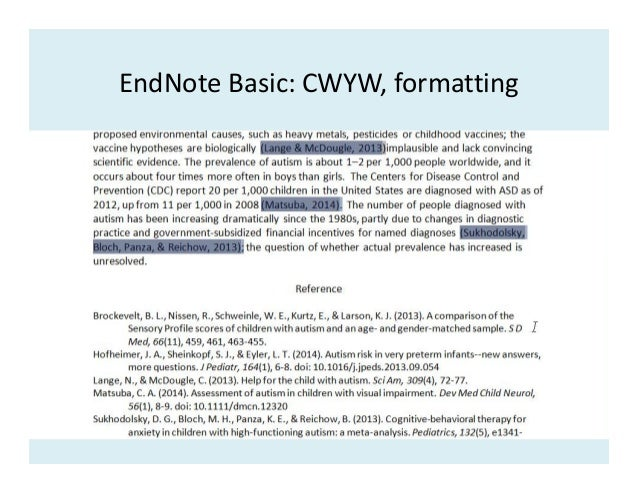 how to change reference style in endnote mac