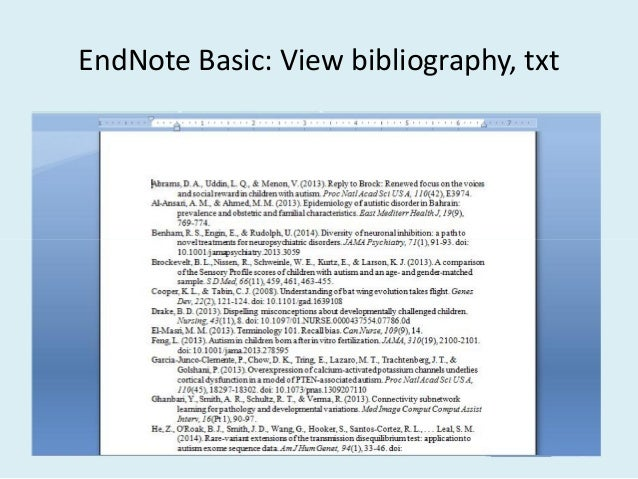 how to use endnotes in a research paper