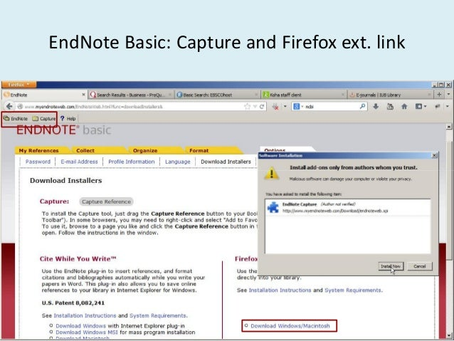 how to add references to endnote from google scholar