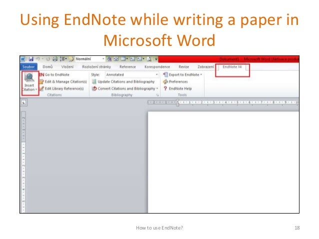 EndNote: Research Guide
