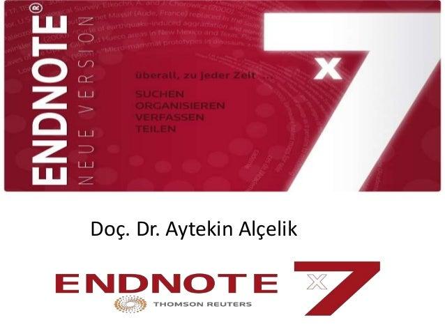 Doç. Dr. Aytekin Alçelik