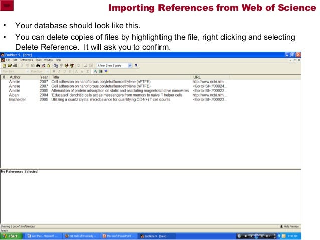 how to add article to endnote