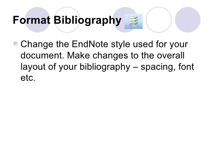 how to change bibliography layout for ieee in endnote