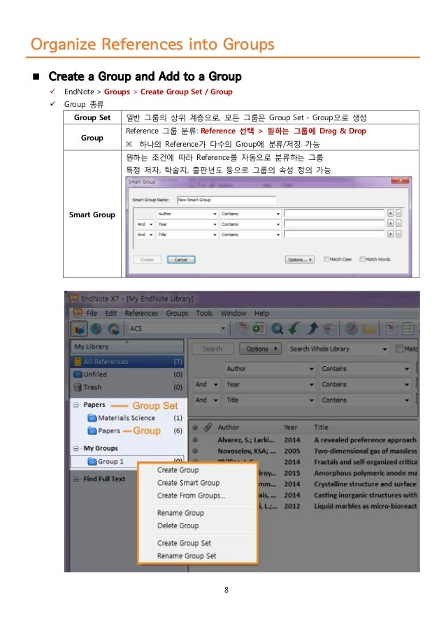 how to import pdf into endnote x7