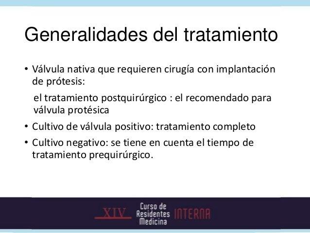 v             En cirugía: pericarditis purulenta               Cultivo de válvula: negativo    Salió de UCI sin déficit ne...