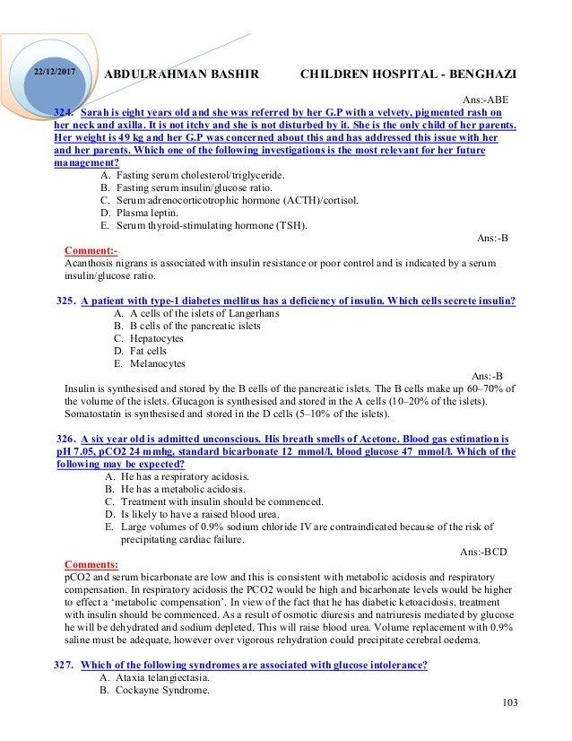 Endocrine mcq
