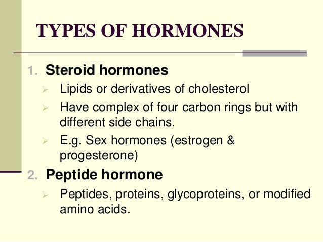 an analysis of different types of hormones The team led by professors salman siddiqui and peter bradding used state-of-the-art statistical methods involving visualisation approaches, to perform the largest comprehensive analysis of.