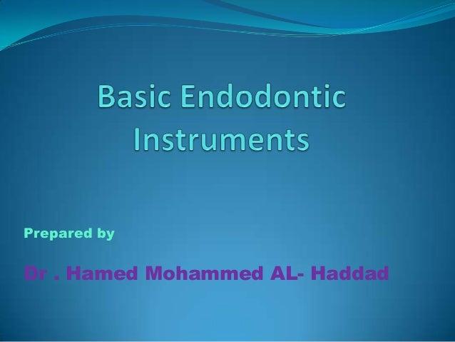 Prepared byDr . Hamed Mohammed AL- Haddad
