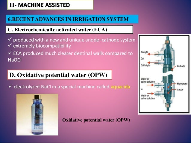 Endodontic Irrigating Devises