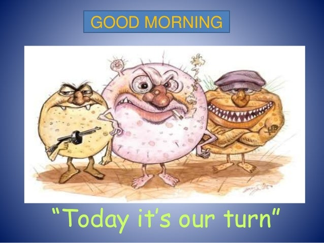 """Today it's our turn"" GOOD MORNING"