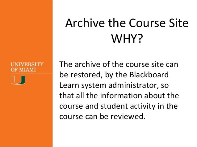 Creating a Master Course - Blackboard Support - Google Sites