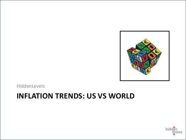 HiddenLevers INFLATION TRENDS: US VS WORLD