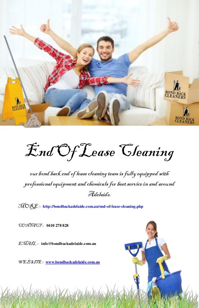 End Of Lease Cleaning our bond back end of lease cleaning team is fully equipped with professional equipment and chemicals...