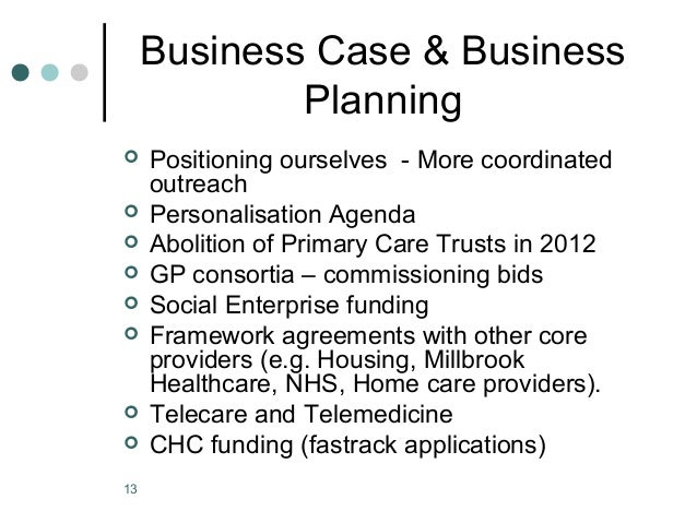 Business planning framework nhsa
