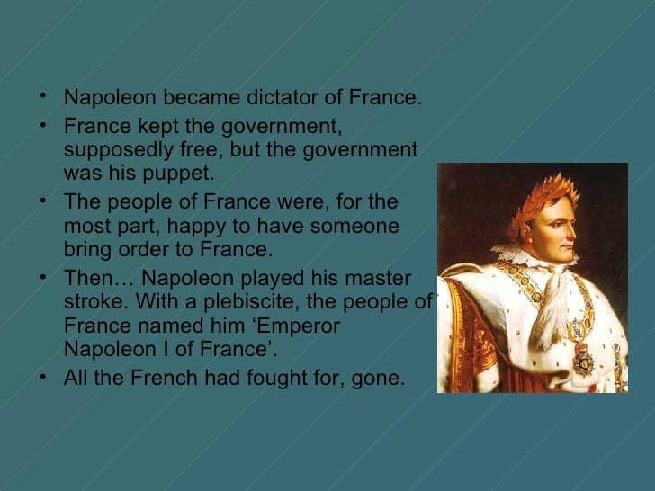 napoleon despot Napoleon series: frequently asked questions: faq#14: what kind of leader was napoleon bonaparte.