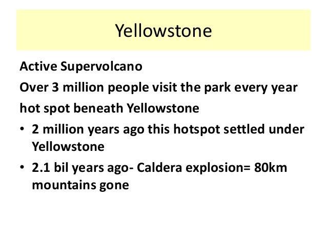 yellowstone case study bitesize
