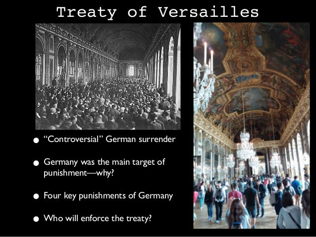 treaty of versailles world war 2 essay Free essays from bartleby | the treaty of versailles, written in paris peace conference by four allied nations, contributed to the culmination of world war i.