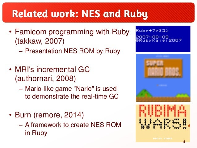 Optcarrot: A Pure-Ruby NES Emulator