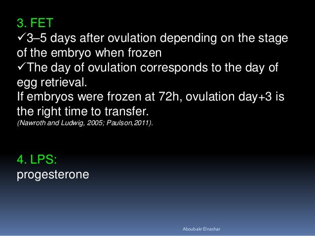 ENDOMETRIAL PREPARATION IN FROZEN EMBRYO TRANSFER CYCLES