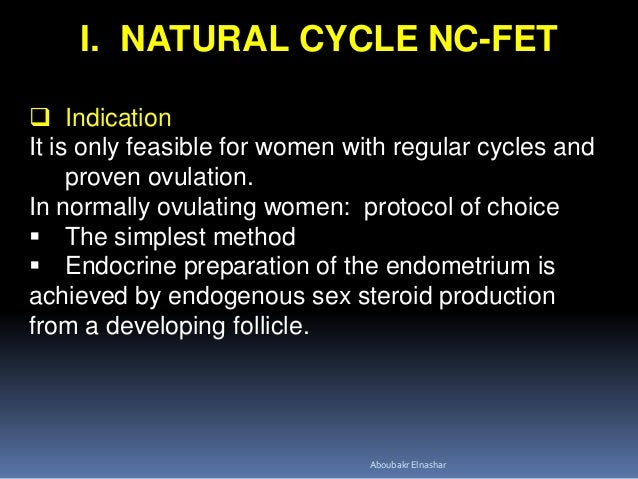 ENDOMETRIAL PREPARATION IN FROZEN EMBRYO TRANSFER CYCLES