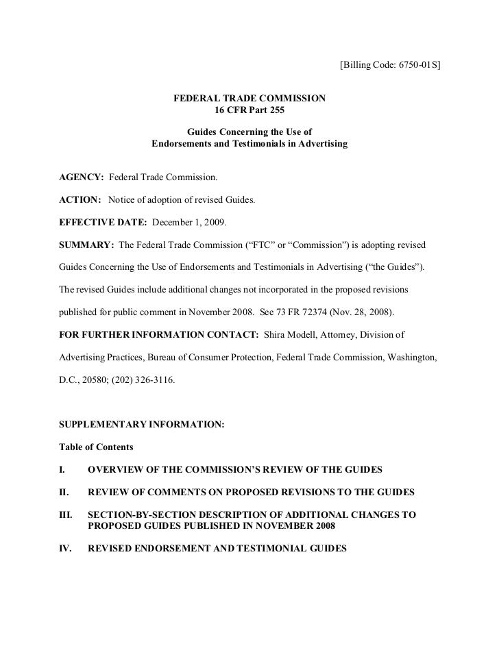 [Billing Code: 6750-01S]                               FEDERAL TRADE COMMISSION                                   16 CFR P...