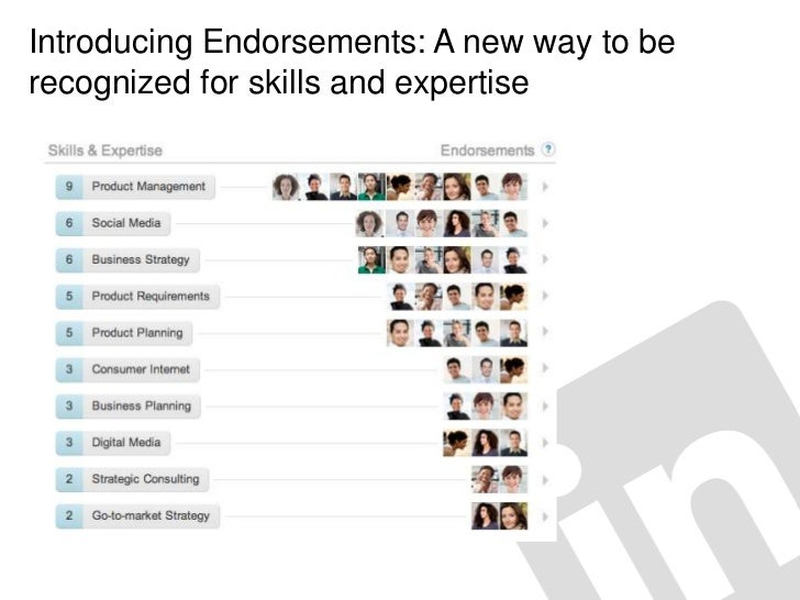 Introducing Endorsements: A new way to berecognized for skills and expertise