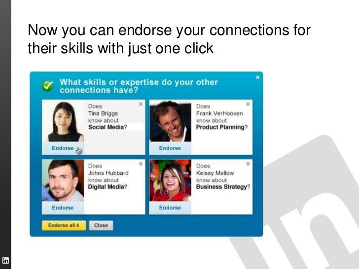 Introducing LinkedIn Endorsements Slide 3