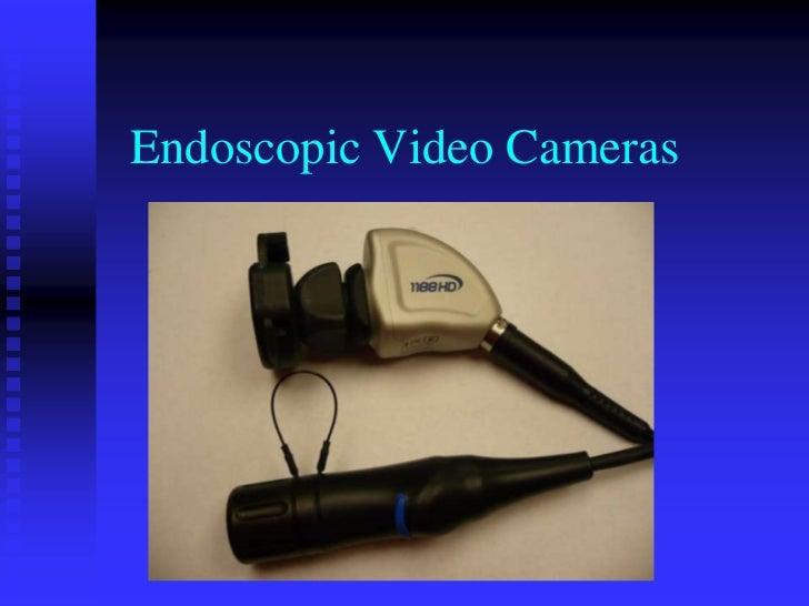 Endoscopic Video Cameras