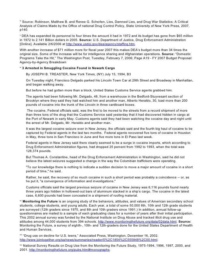 lies damned lies and drug war statistics pdf