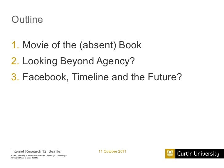 The Ends of Online Identity Slide 2