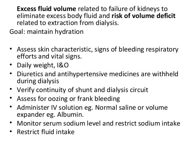 Case Study End Stage Renal Failure