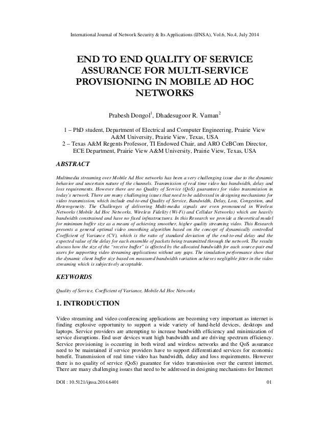 International Journal of Network Security & Its Applications (IJNSA), Vol.6, No.4, July 2014 DOI : 10.5121/ijnsa.2014.6401...