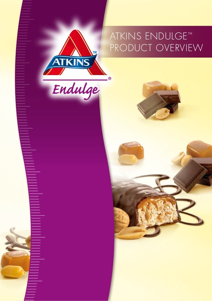 Atkins EnDULGE ™PRODUCt OVERViEW