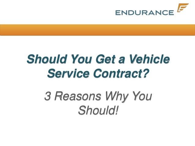 Vehicle Service Contracts  Endurance Warranty Services Llc