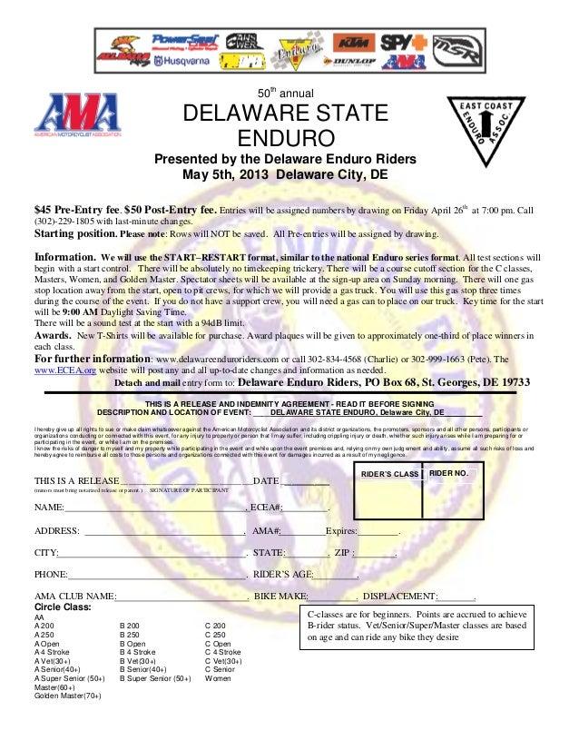 50th annual                                                            DELAWARE STATE                                     ...