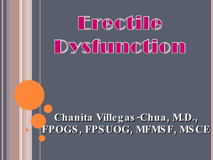 <ul><li>Chanita Villegas-Chua, M.D., FPOGS, FPSUOG, MFMSF, MSCE </li></ul>